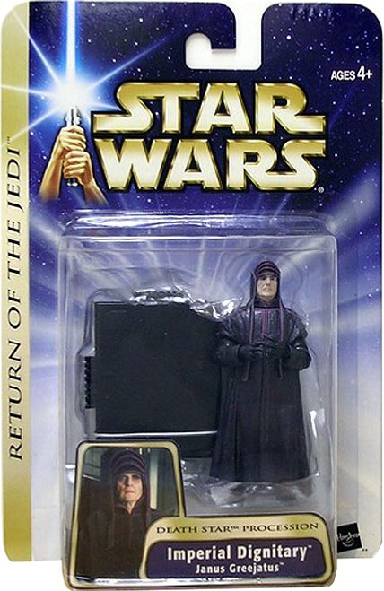 Star Wars Revenge of the Sith Imperial Dignitary Action Figure [Janus Greejatus]