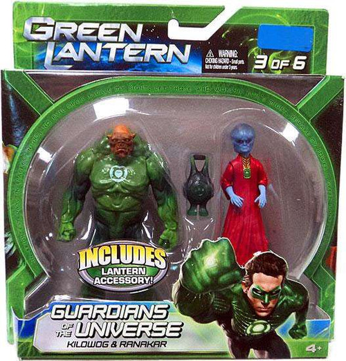 Green Lantern Movie Guardians of the Universe Kilowog & Ranakar Exclusive Action Figure 2-Pack #3 of 6
