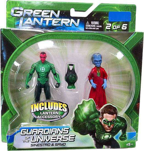 Green Lantern Movie Guardians of the Universe Sinestro & Sayo Exclusive Action Figure 2-Pack #2 of 6