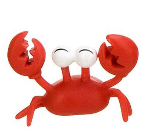 Club Penguin Klutzy The Crab 2-Inch Mini Figure