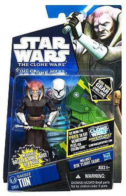 Star Wars The Clone Wars 2011 Saesee Tiin Action Figure CW54