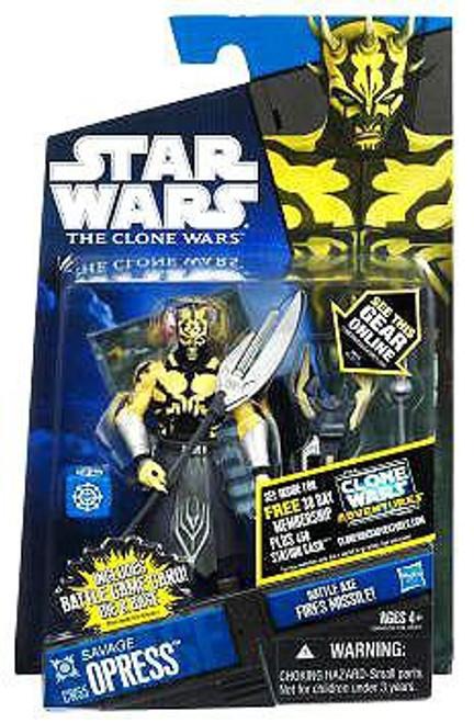 Star Wars The Clone Wars 2011 Savage Opress Action Figure CW55 [Shirtless]