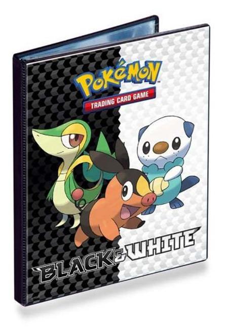 Ultra Pro Pokemon Black & White Card Supplies Snivy, Tepig & Oshawott 4-Pocket Binder