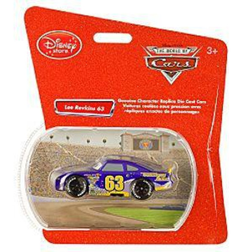 Disney / Pixar Cars 1:48 Single Packs Lee Revkins No. 63 Exclusive Diecast Car [Transberry Juice]