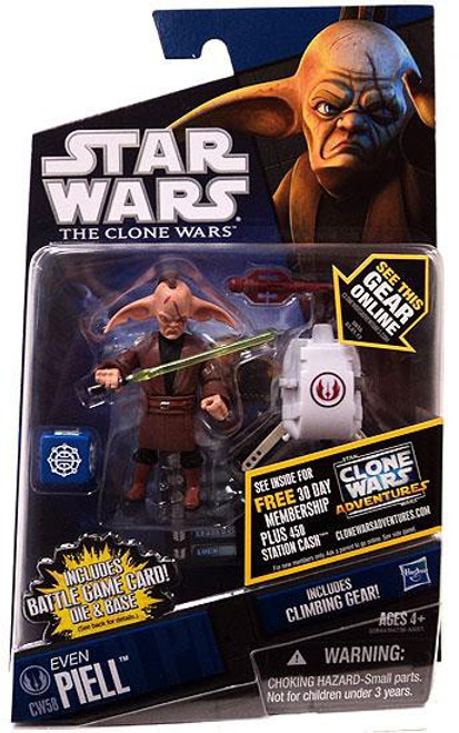 Star Wars The Clone Wars 2011 Even Piell Action Figure CW58