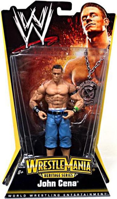 WWE Wrestling WrestleMania Heritage Series 1 John Cena Action Figure