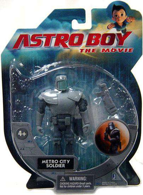 Astro Boy Metro City Soldier Action Figure