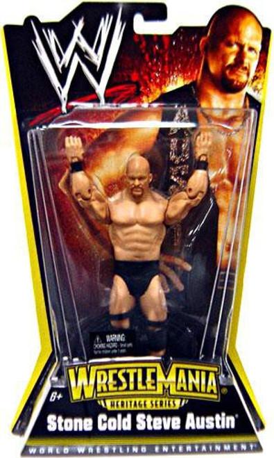 WWE Wrestling WrestleMania Heritage Series 1 Stone Cold Steve Austin Action Figure