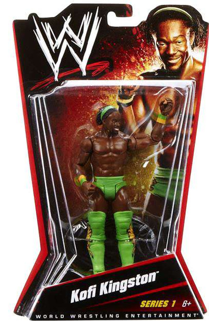 WWE Wrestling Kofi Kingston Action Figure