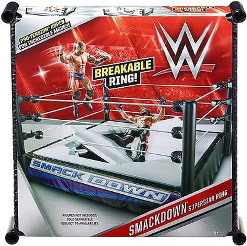 WWE Wrestling Smackdown Superstar Ring [Breakable]
