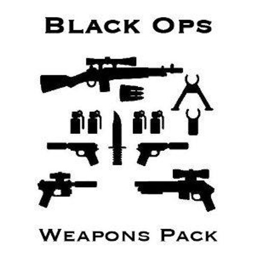 BrickArms Black Ops Exclusive 2.5-Inch Weapons Pack