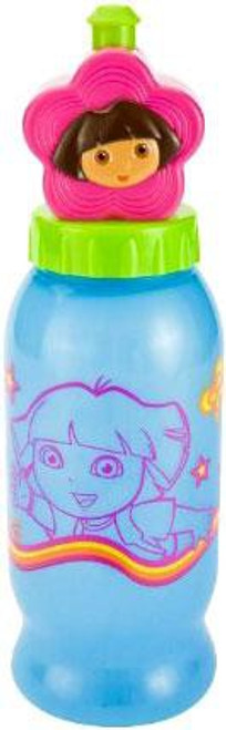 Dora the Explorer Squeeze N Sip Pull Up Top Sports Bottle