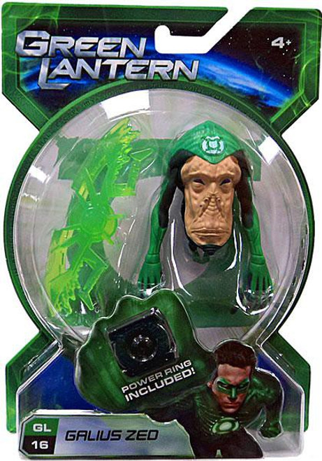 Green Lantern Movie Galius Zed Action Figure GL16