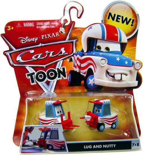 Disney / Pixar Cars Cars Toon Main Series Lug & Nutty Diecast Car #7 & 8