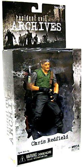 NECA Resident Evil Archives Series 1 Chris Redfield Action Figure