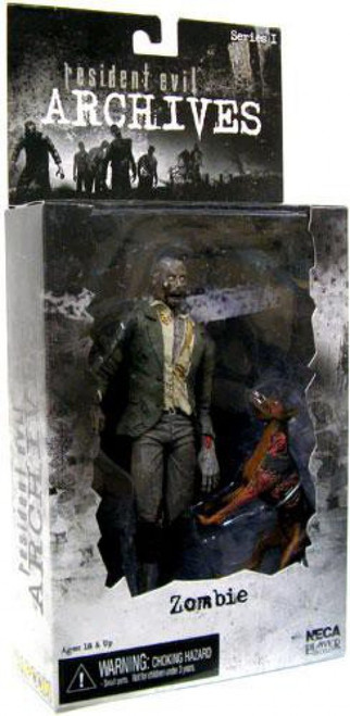 NECA Resident Evil Archives Series 1 Zombie Action Figure