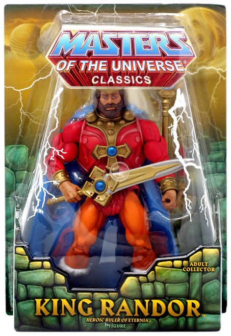 Masters of the Universe Classics Club Eternia King Randor Exclusive Action Figure