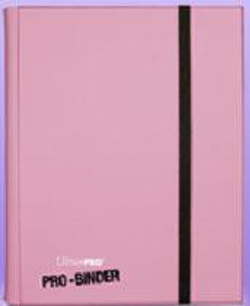 Ultra Pro Card Supplies Pro-Binder Pink 9-Pocket Binder