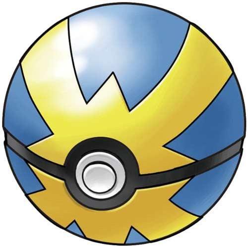 Pokemon Soft Foam Quick Ball 2.5-Inch Pokeball