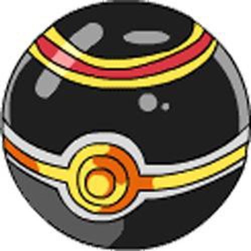 Pokemon Soft Foam Luxury Ball 2.5-Inch Pokeball