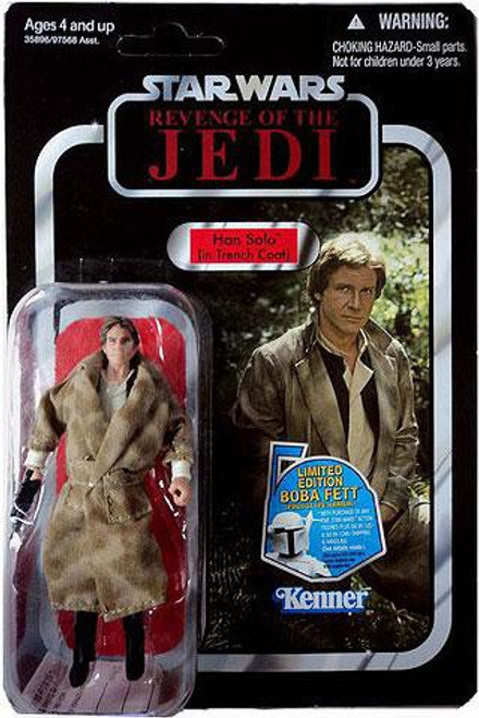 Star Wars Return of the Jedi 2011 Vintage Collection Han Solo Action Figure #62 [Trench Coat]