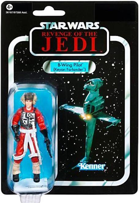 Star Wars Return of the Jedi 2011 Vintage Collection B-Wing Pilot Action Figure #63 [Keyan Farlander]