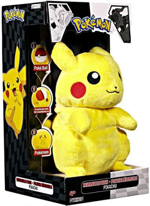 Pokemon Black & White Deluxe Reversible Series 2 Pikachu Plush