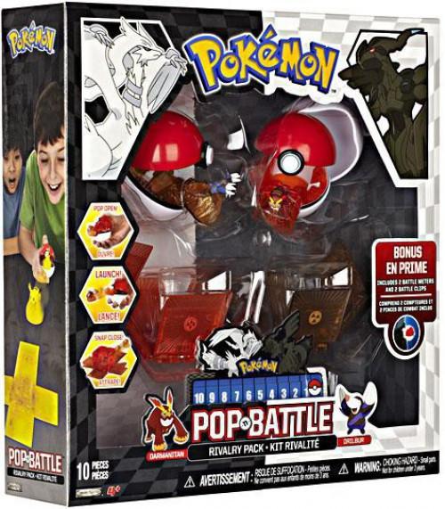 Pokemon Black & White Series 2 Pop n' Battle Drilbur vs. Darmanitan Rivalry Pack