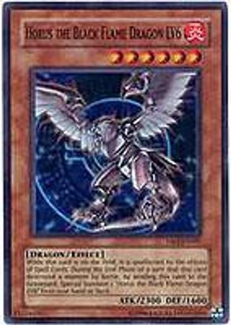 YuGiOh Dark Revelation 3 Super Rare Horus the Black Flame Dragon LV6 DR3-EN007