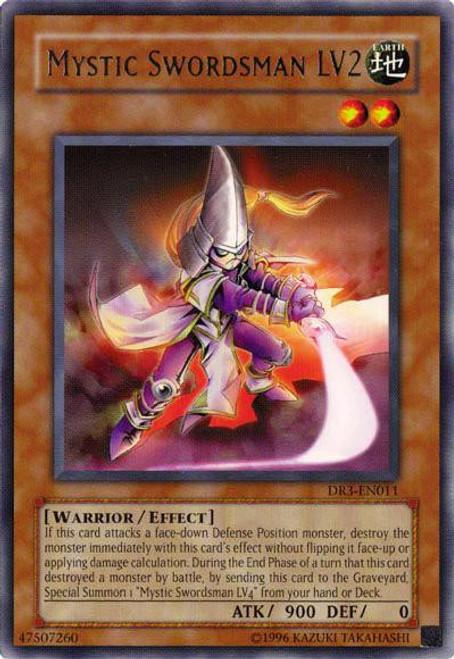 YuGiOh Dark Revelation 3 Rare Mystic Swordsman LV2 DR3-EN011