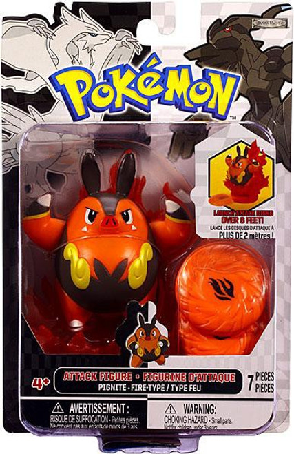 Pokemon Black & White Series 3 Attack Pignite Figure