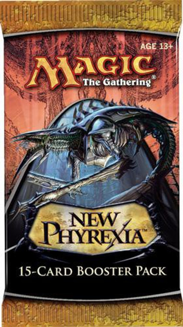 MtG Trading Card Game New Phyrexia Booster Pack