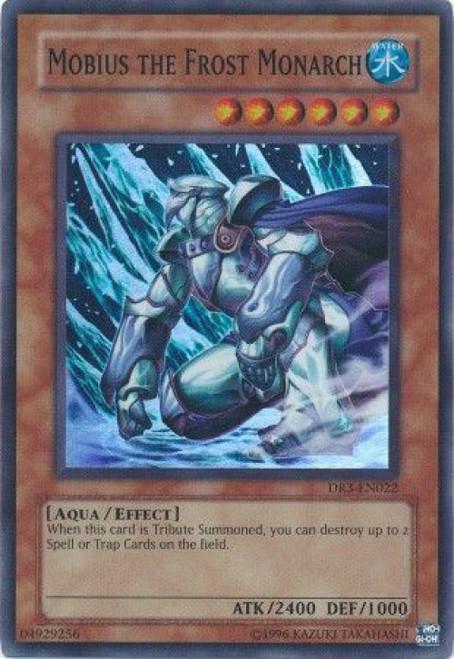 YuGiOh Dark Revelation 3 Super Rare Mobius the Frost Monarch DR3-EN022