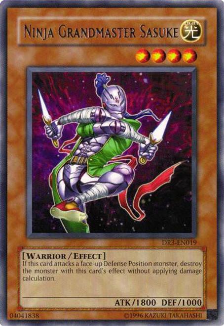 YuGiOh Dark Revelation 3 Rare Ninja Grandmaster Sasuke DR3-EN019