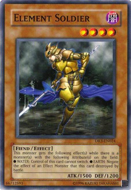 YuGiOh Dark Revelation 3 Common Element Soldier DR3-EN024