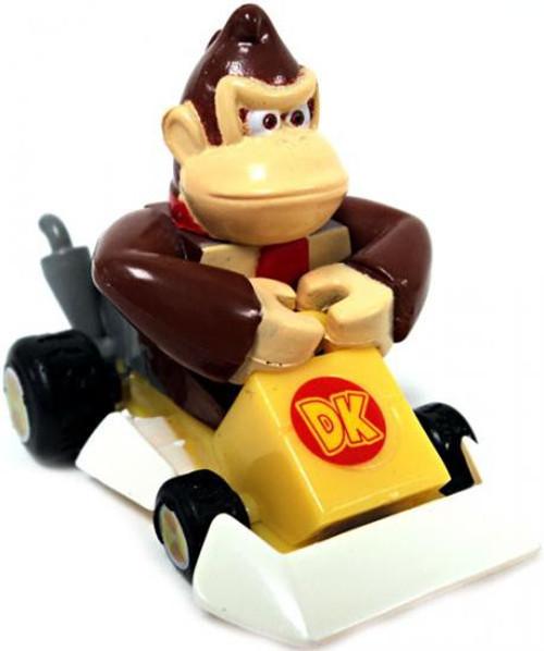 Super Mario Mario Kart Gacha Donkey Kong 1.5-Inch Pull Back Racer [Square Front Bumper]