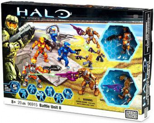 Mega Bloks Halo Battle Unit II Exclusive Set #96915