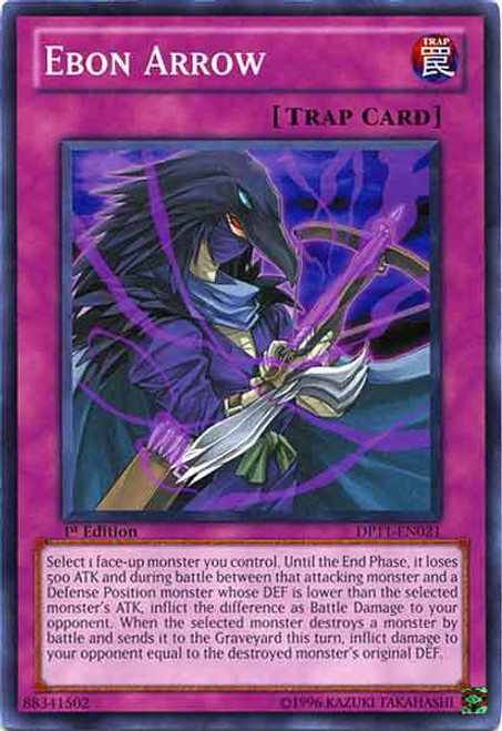 YuGiOh 5D's Duelist Pack Crow Common Ebon Arrow DP11-EN021