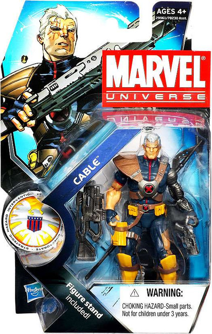 Marvel Universe Series 13 Cable Action Figure #7 [Without Baby Variant]