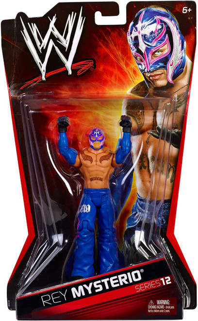 WWE Wrestling Series 12 Rey Mysterio Action Figure