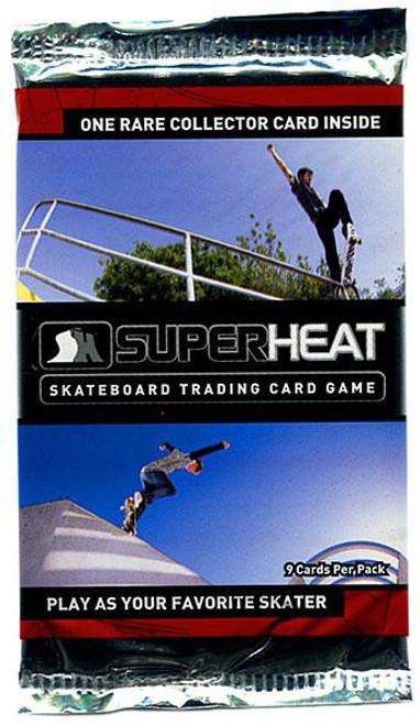Super Heat Skateboard Trading Card Game Throwdown Booster Pack