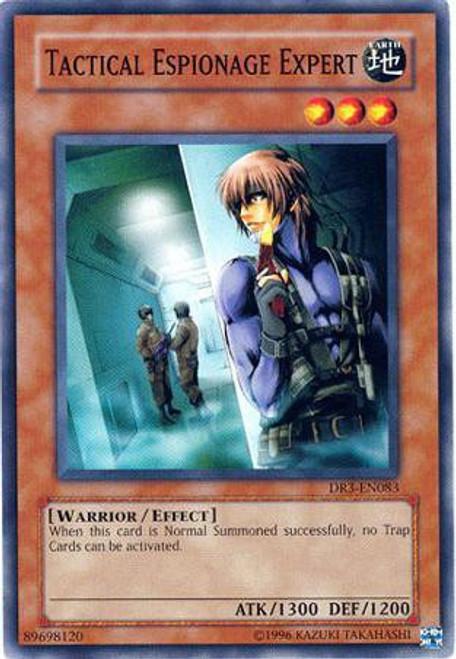 YuGiOh Dark Revelation 3 Common Tactical Espionage Expert DR3-EN083