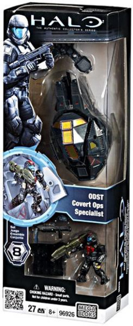 Mega Bloks Halo The Authentic Collector's Series Drop Pod ODST Covert Ops Specialist Set #96926