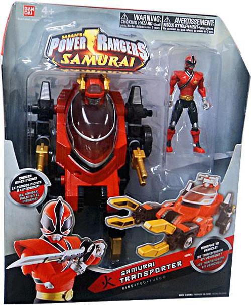 Power Rangers Samurai Transporter Action Figure