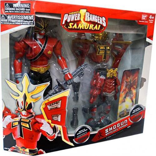 Power Rangers Samurai Shogun Battlized Ranger Fire Deluxe Action Figure