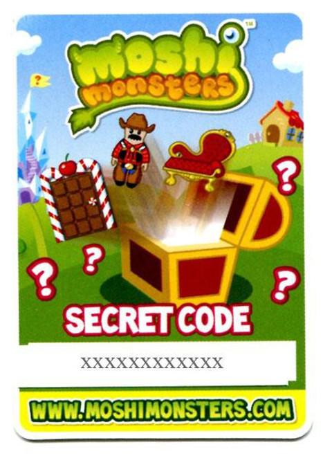 Moshi Monsters Topps Secret Code