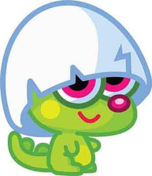 Moshi Monsters Moshlings Series 1 Pooky 1.5-Inch Mini Figure #50
