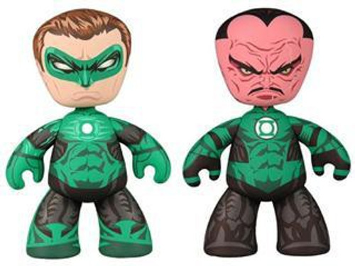 Green Lantern Mez-Itz Hal Jordan & Sinestro 6-Inch Vinyl Figure 2-Pack