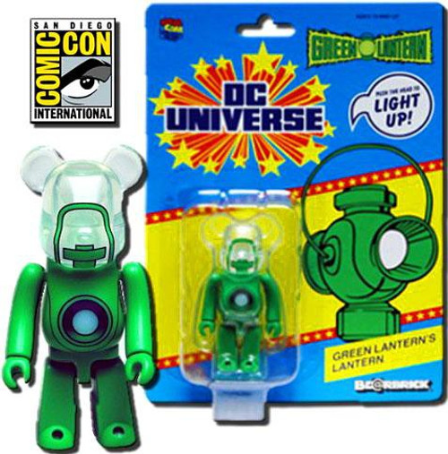 Bearbrick Green Lantern's Lantern Exclusive Minifigure