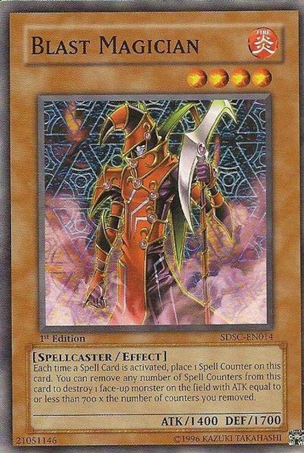 YuGiOh Dark Revelation 3 Super Rare Blast Magician DR3-EN140